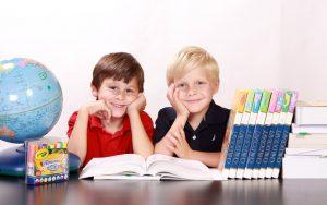 Children readers.